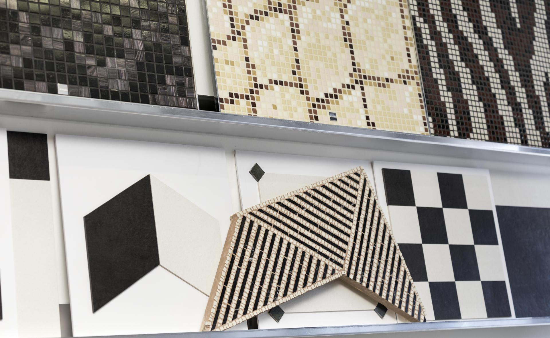 Mosaike für Wand und Boden